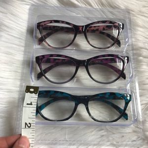 a98ade344077 Betsey Johnson Accessories - NEW Betsy Johnson Reading Glasses +2.00 Blue  Pink